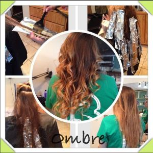 Ombré Hairstyle in St. Joseph MN