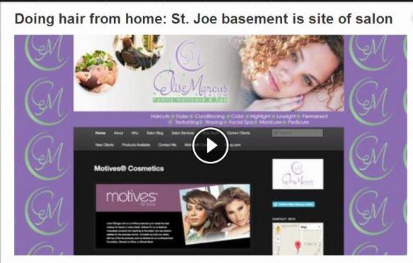 St Cloud Times Article about  Elise Marcus Salon