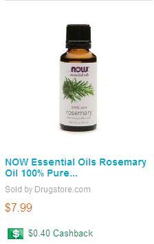 Rosemary Essential Oil | Elise Marcus Salon