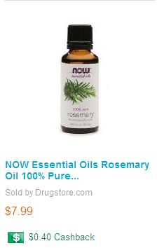 Rosemary Essential Oil | Elise Marcus Salon